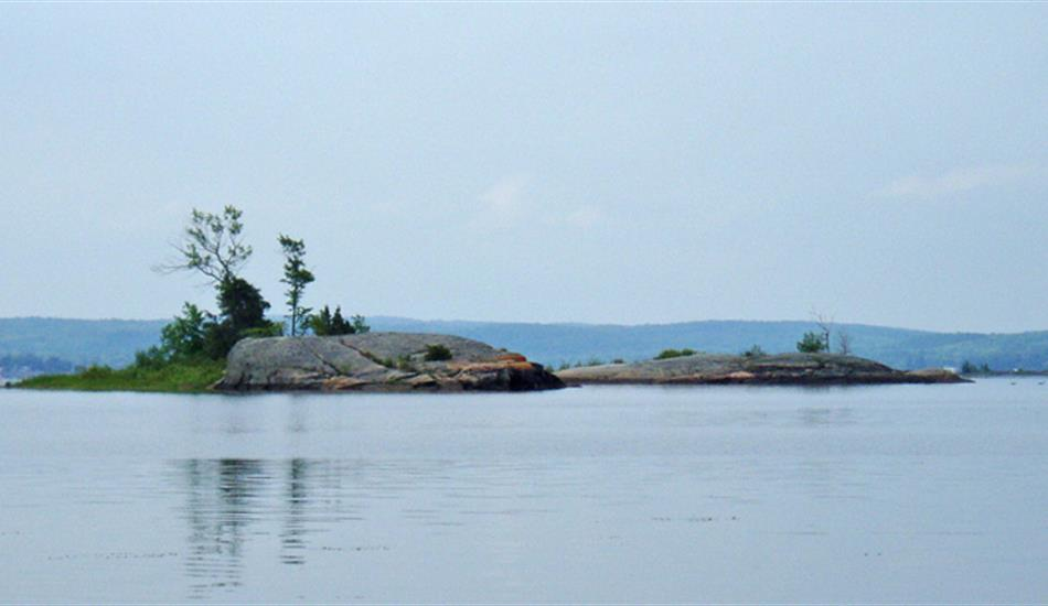 One of several Islands North of Sturgeon Bay
